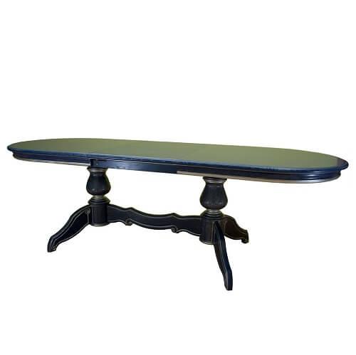 Стол раскладной темной окраски