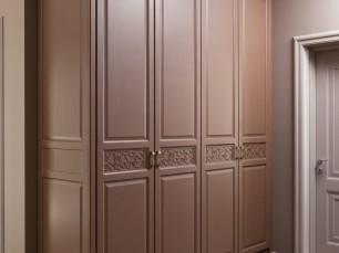 Шкаф с элементами 2D лазерной резки